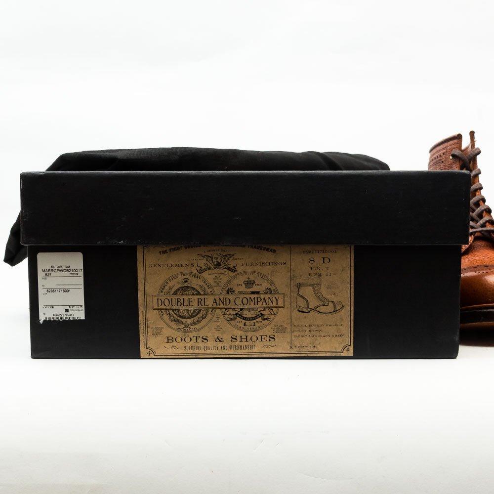 ラルフローレン RRL(ダブルアールエル)BOWERY BOOTS レースアップブーツ イングランド製 サイズ8D