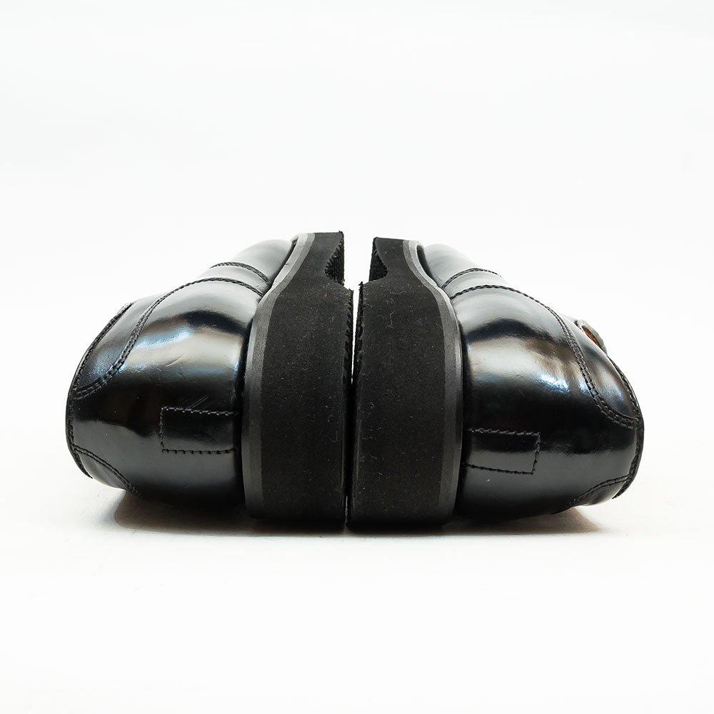 オールデン 2495 タンカーオックスフォード Uチップ コードバン ブラック サイズ6.5D