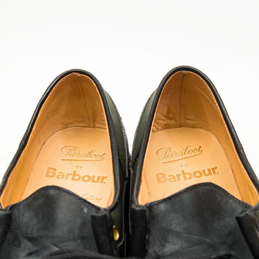 パラブーツ MIRABEAU(ミラボー)バブアーコラボ international gallery beams別注 サイズ39