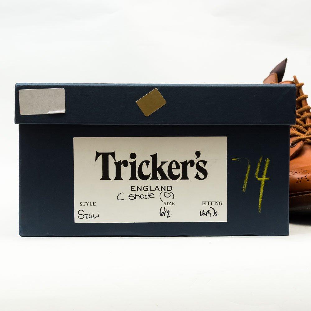 トリッカーズ STOW(ストウ)カントリーブーツ シーシェイド サイズ6.5Fitting5