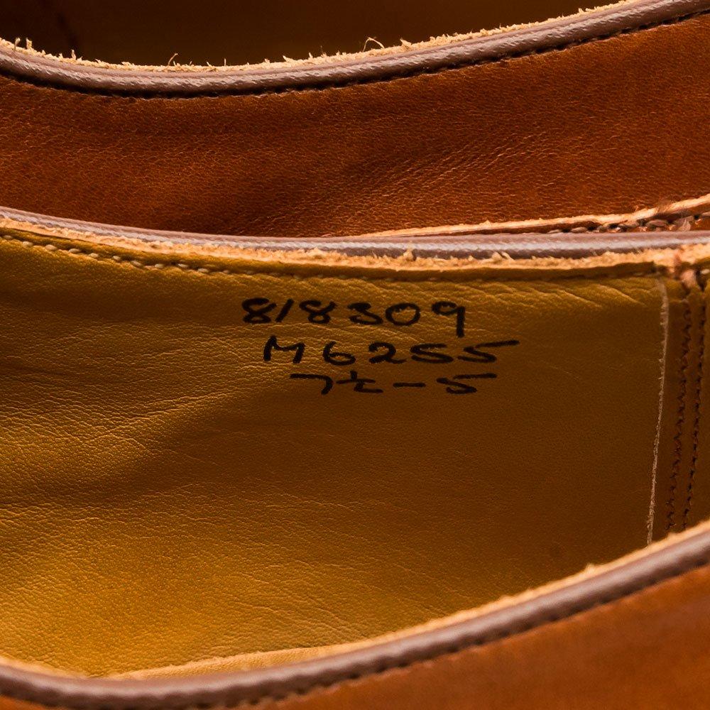 トリッカーズ M6255 外羽根プレーントゥ マロン サイズ7.5Fitting5