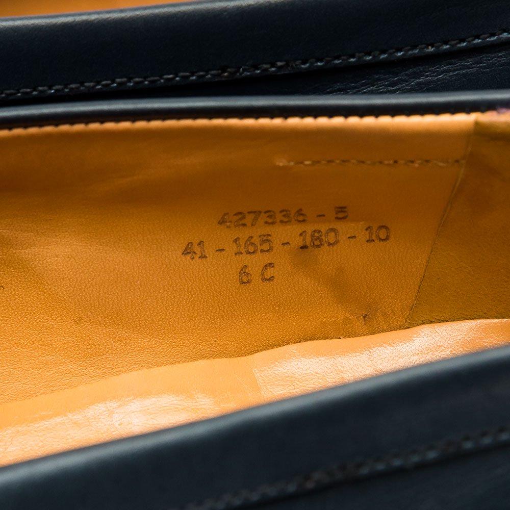 ジェイエムウエストン 180 シグニチャーローファー ネイビー サイズ6C