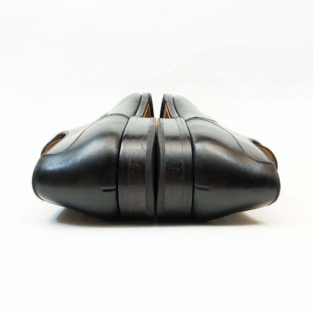マグナーニ 2アイレット 外羽根メダリオンシューズ ブラック サイズ41