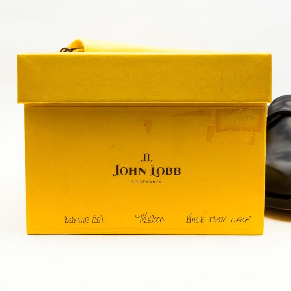 ジョンロブ REDMIRE(レドマイヤー)シングルモンク ブラック プレステージ 黄色箱 サイズ7.5E