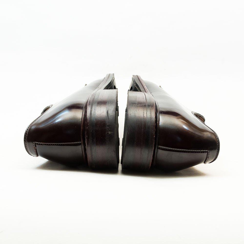 ジャランスリワヤ 98378 外羽根プレーントゥ バーガンディ サイズ6.5