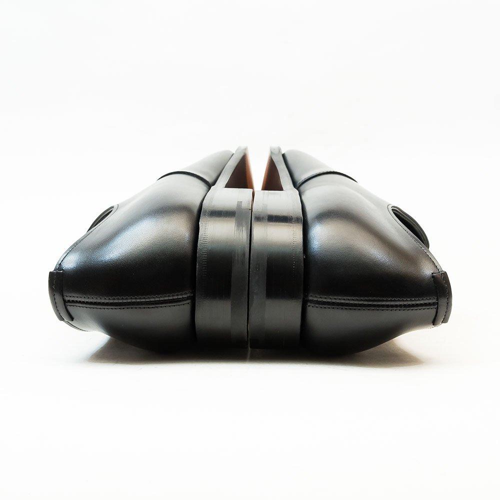 エドワードグリーン CHELSEA(チェルシー)内羽根ストレートチップ ブラック カーフ サイズ7.5D