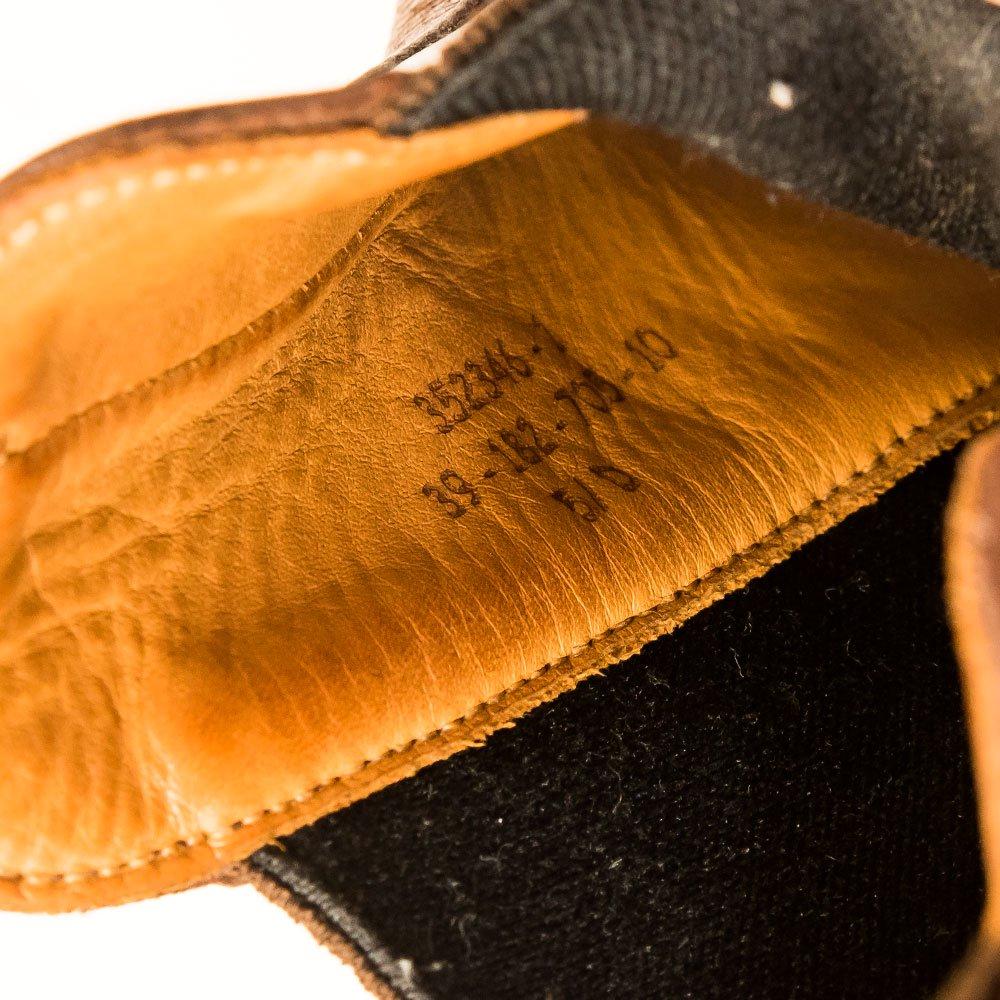 ジェイエムウエストン 705 チャルシーブーツ サイドゴア タン サイズ5.5D