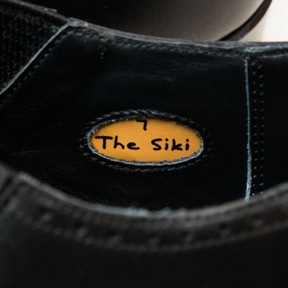 レイマー THE SIKI レイジーマン サイドエラスティックパンチドキャップトゥ ブラック サイズ7