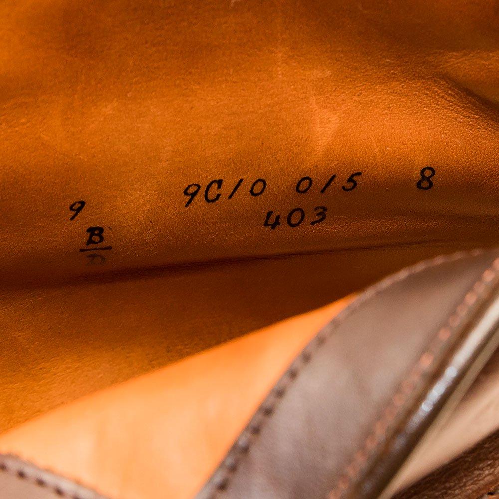 オールデン 403 インディーブーツ クロムエクセル ブラウン サイズ9D