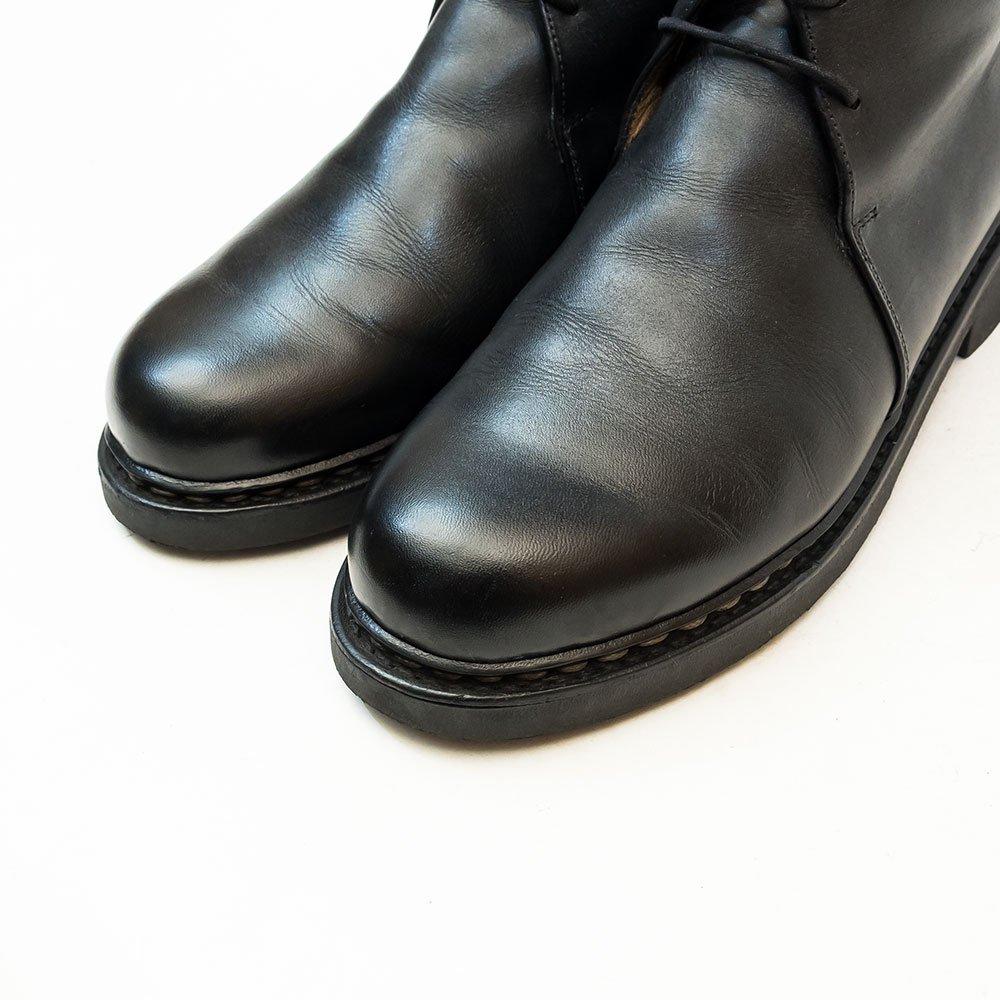 パラブーツ BLOIS(ブロワ)ジョージブーツ チャッカブーツ リスレザー ブラック サイズ7F