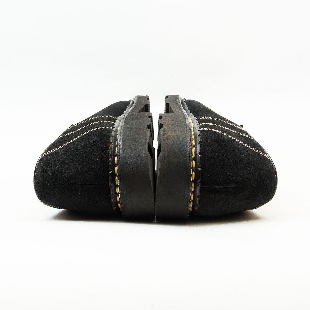 パラブーツ MOZIME(モジーン)チロリアンシューズ ブラック スエード SHIPS別注 サイズ41