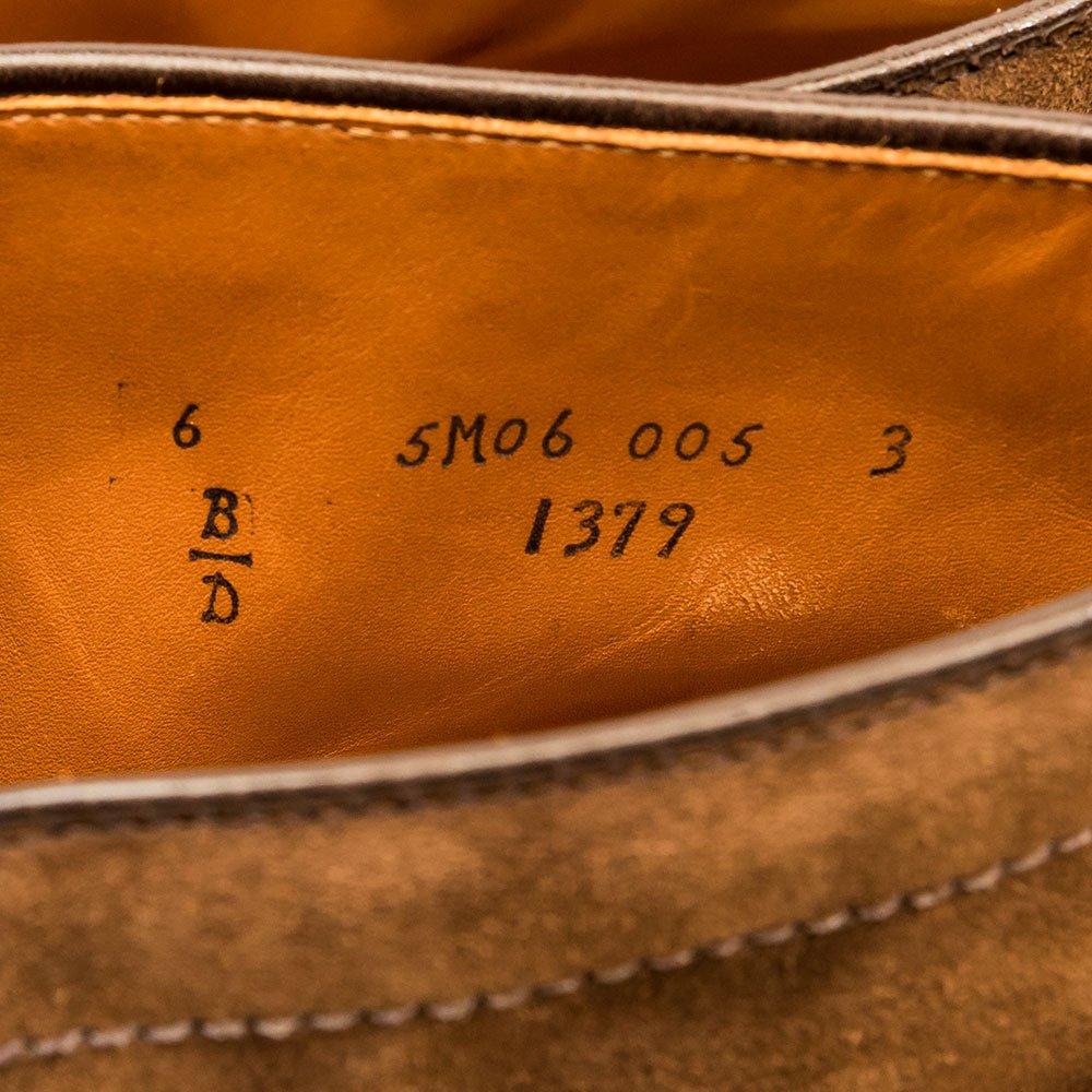 オールデン 1379 チャッカブーツ スエード ブラウン BEAMS別注 サイズ6D