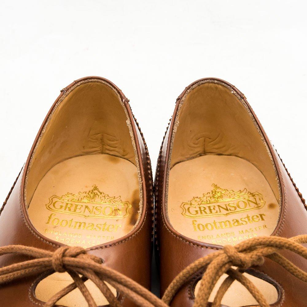 グレンソン ギリーシューズ  FOOTMASTER カーフ ブラウン サイズ7.5D