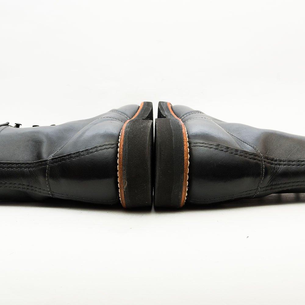 レッドウィング 9213 アイリッシュセッター モックトゥブーツ ブラック オイルドレザー サイズ7.5D