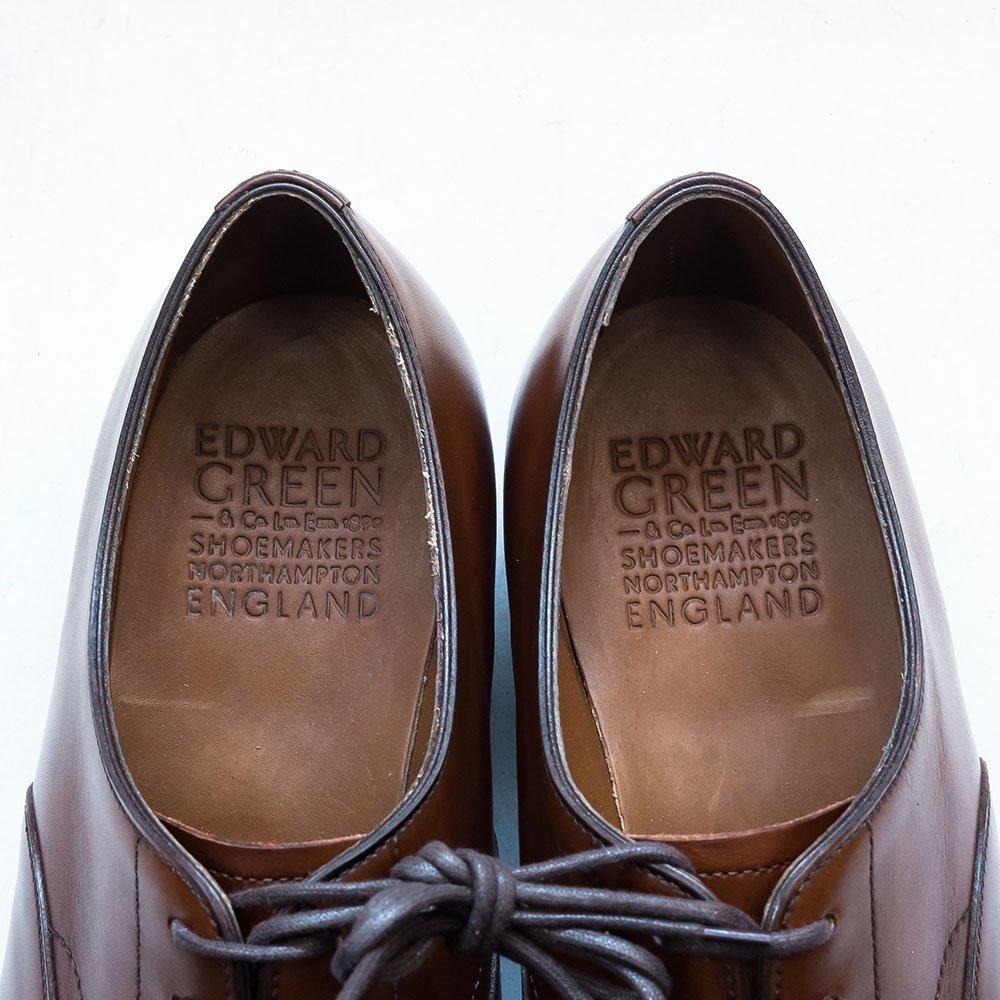 エドワードグリーン CHELSEA(チェルシー)ストレートチップ ダークオーク サイズ8D