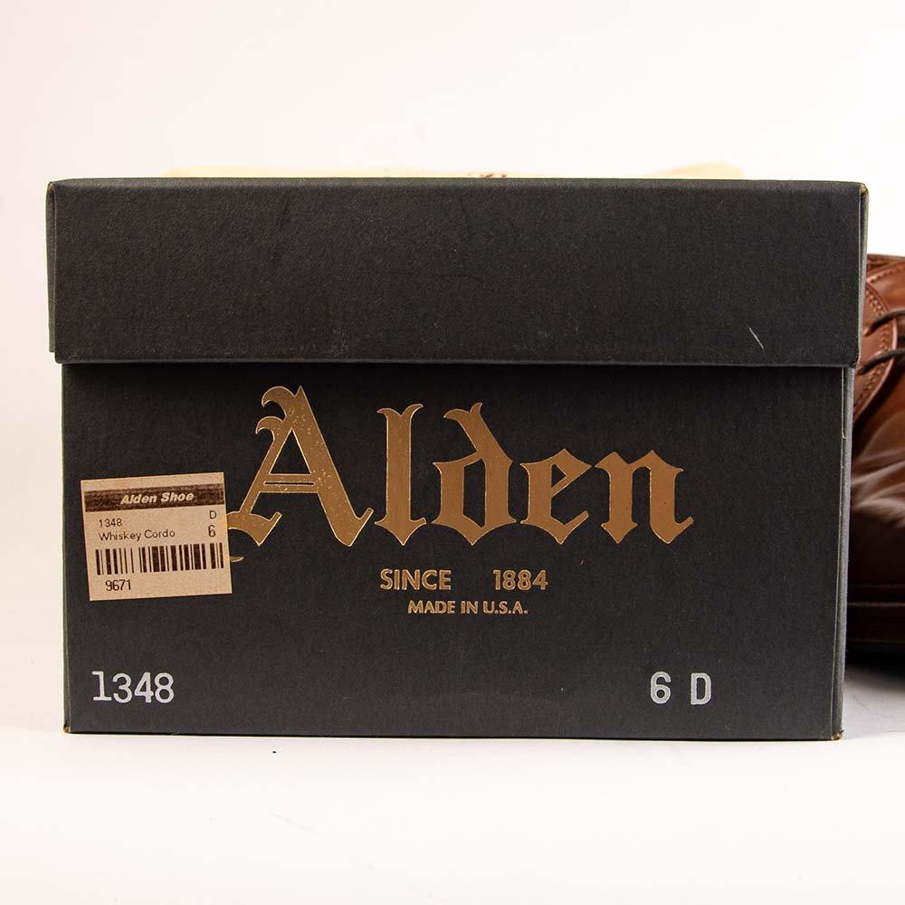 オールデン 1348 チャッカブーツ ウイスキーコードバン サイズ6D