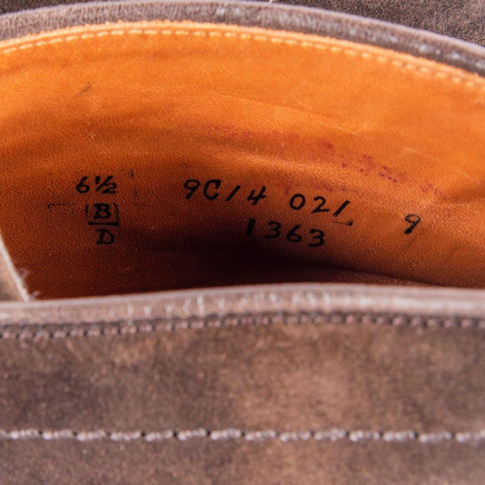 オールデン 1363 チャッカブーツ スエード ダークブラウン サイズ6.5D