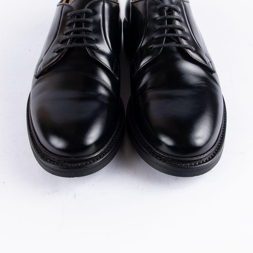 ティートロ クラシック 4406 プレーントゥ ブラック サイズ8