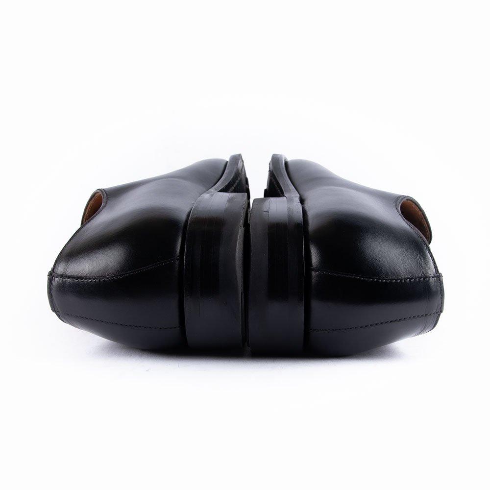 ティートロ クラシック 3963 ホールカット ブラック サイズ8