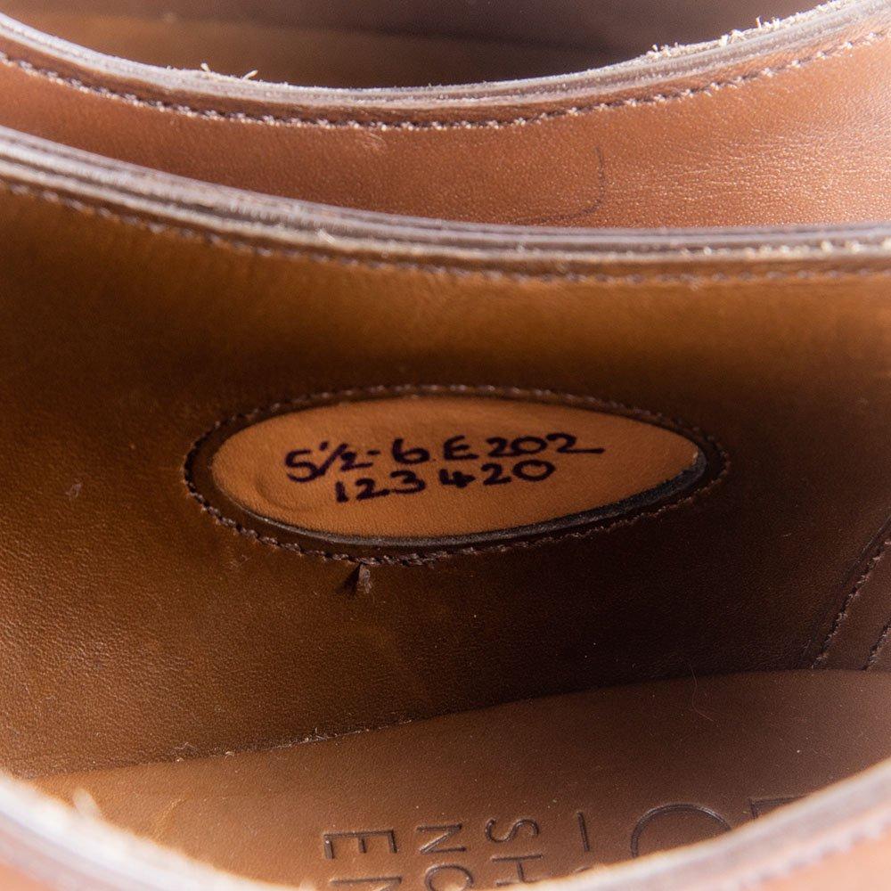 エドワードグリーン CHELSEA(チェルシー)ストレートチップ ダークオーク 202 サイズ5.5E