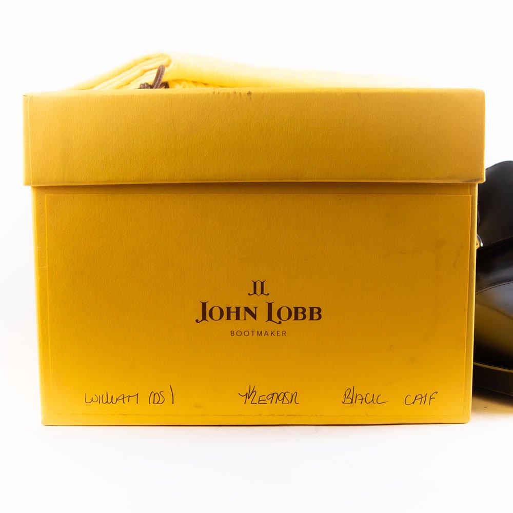 ジョンロブ WILLIAM(ウィリアム)ダブルモンク ブラック 黄色箱 サイズ7.5E