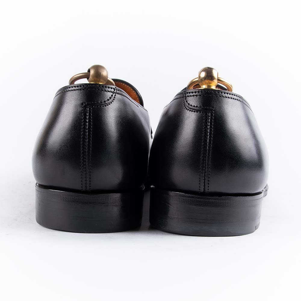 ジョンロブ LOPEZ(ロペス)コインローファー ブラック サイズ7.5E 黄色箱