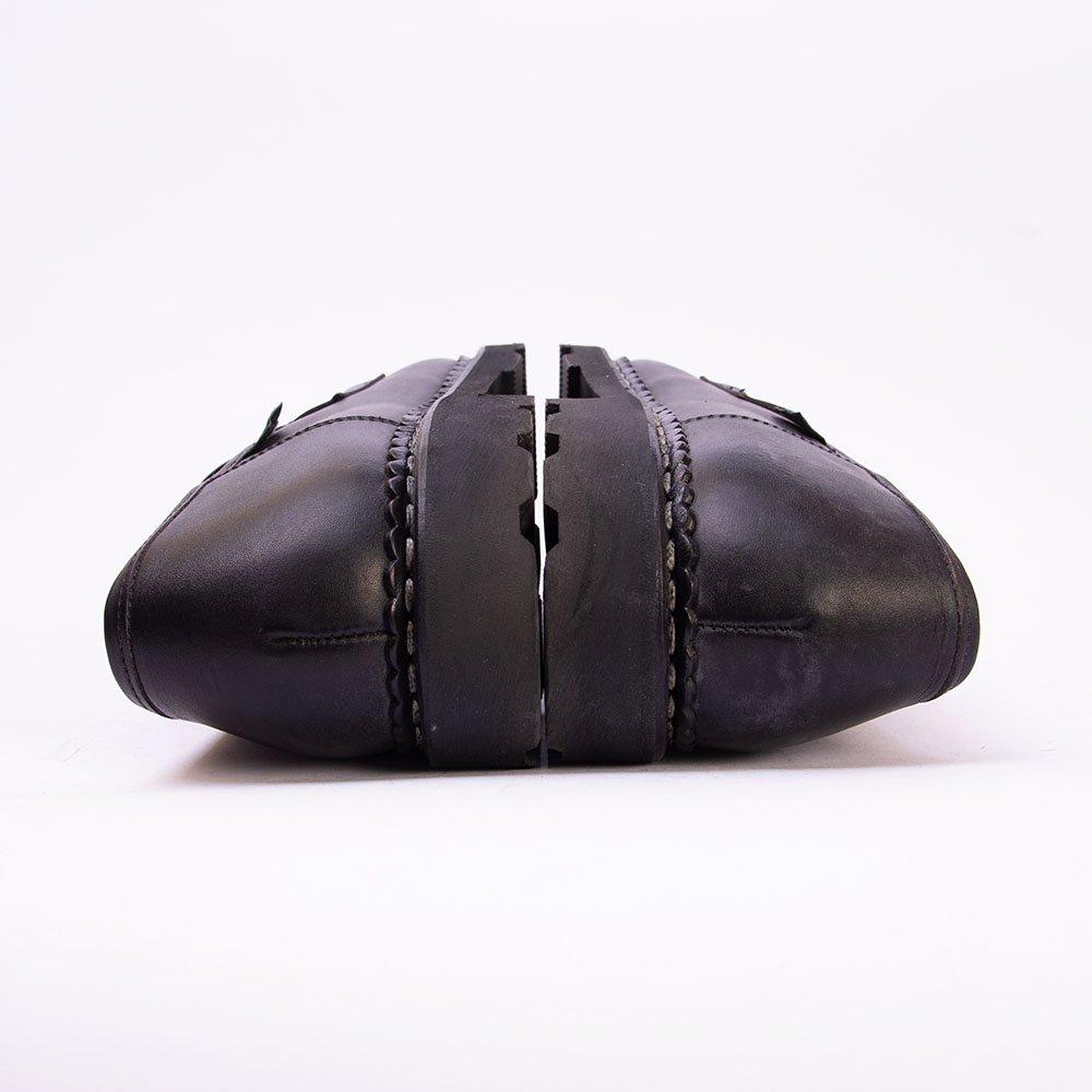 パラブーツ REIMS(ランス)コインローファー ブラック リスレザー サイズ7