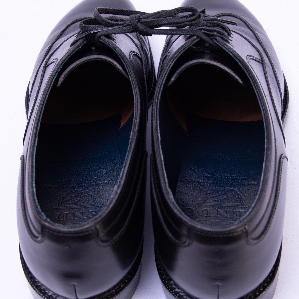 レンド ブラインドブローグ ブラック 845ラスト サイズ7