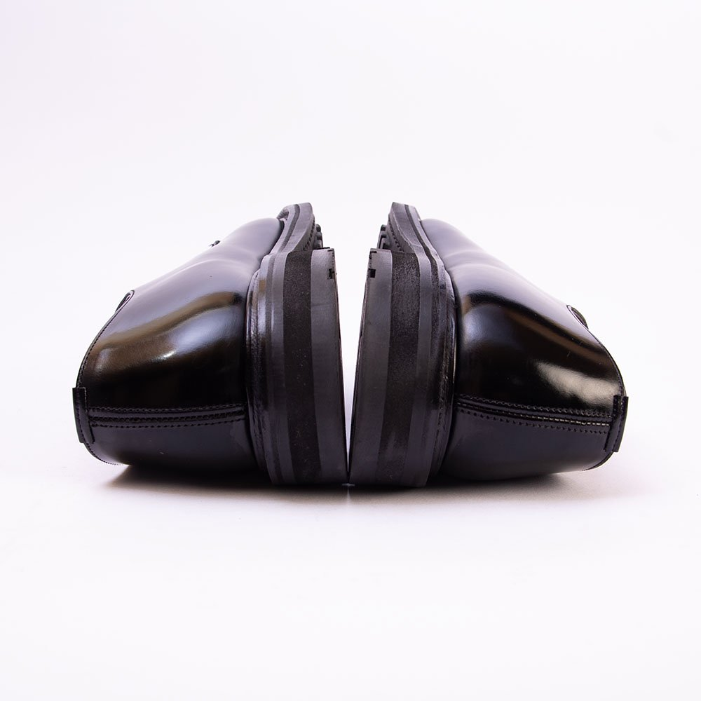 チャーチ WOODBRIDGE(ウッドブリッジ)プレーントゥ ブラック ポリッシュドバインダー サイズ70F