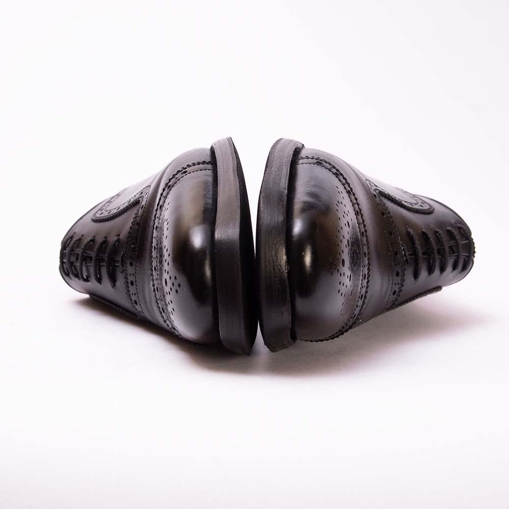 スコッチグレイン 930BL インペリアル� セミブローグ ブラック サイズ23.5EEE