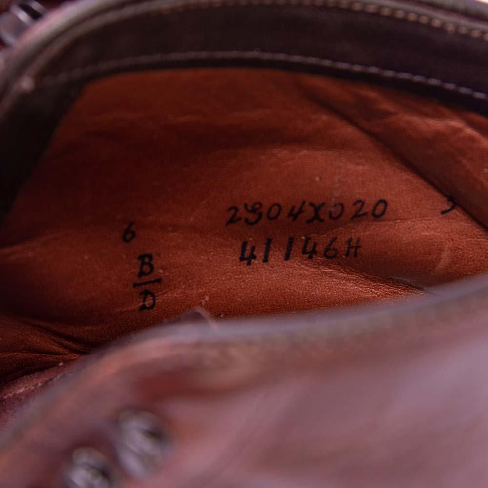 オールデン 41146H インディーブーツ ブラウン クロムエクセル モディファイドラスト サイズ6D
