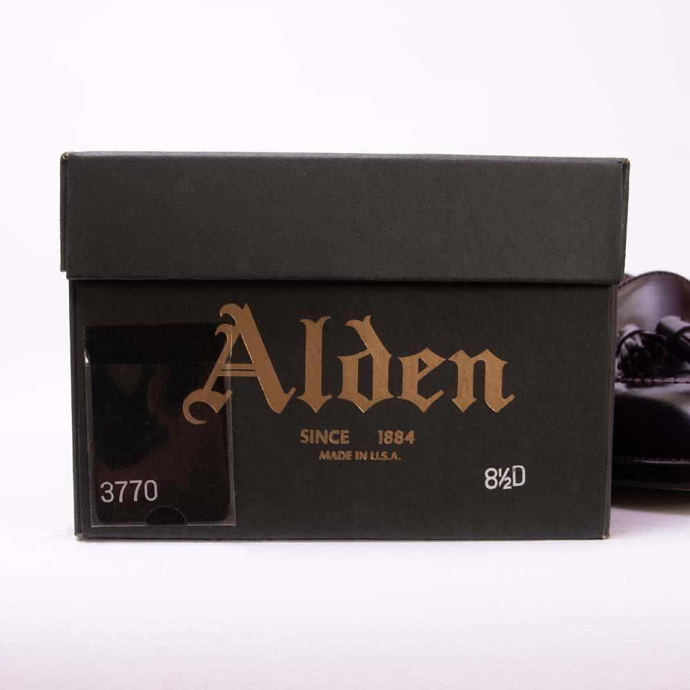 オールデン 3770 タッセルローファー コードバン ダークバーガンディ B&Y別注 サイズ8.5D