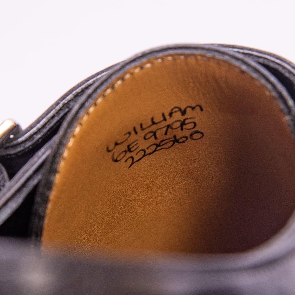 ジョンロブ WILLIAM(ウィリアム)ダブルモンク ブラック サイズ6E