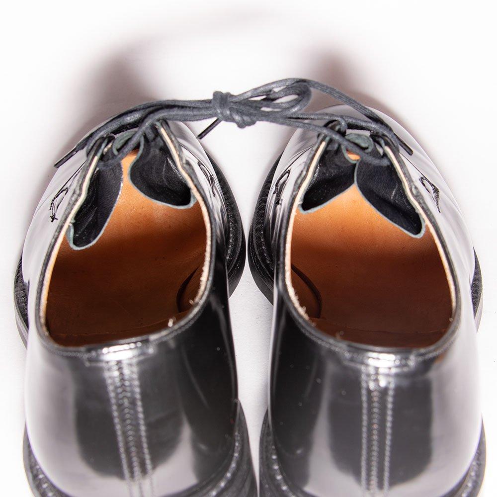 チャーチ SHANNON R(シャノンR)プレーントゥ ブラック ポリッシュドバインダー ダイナイトソール サイズ90G