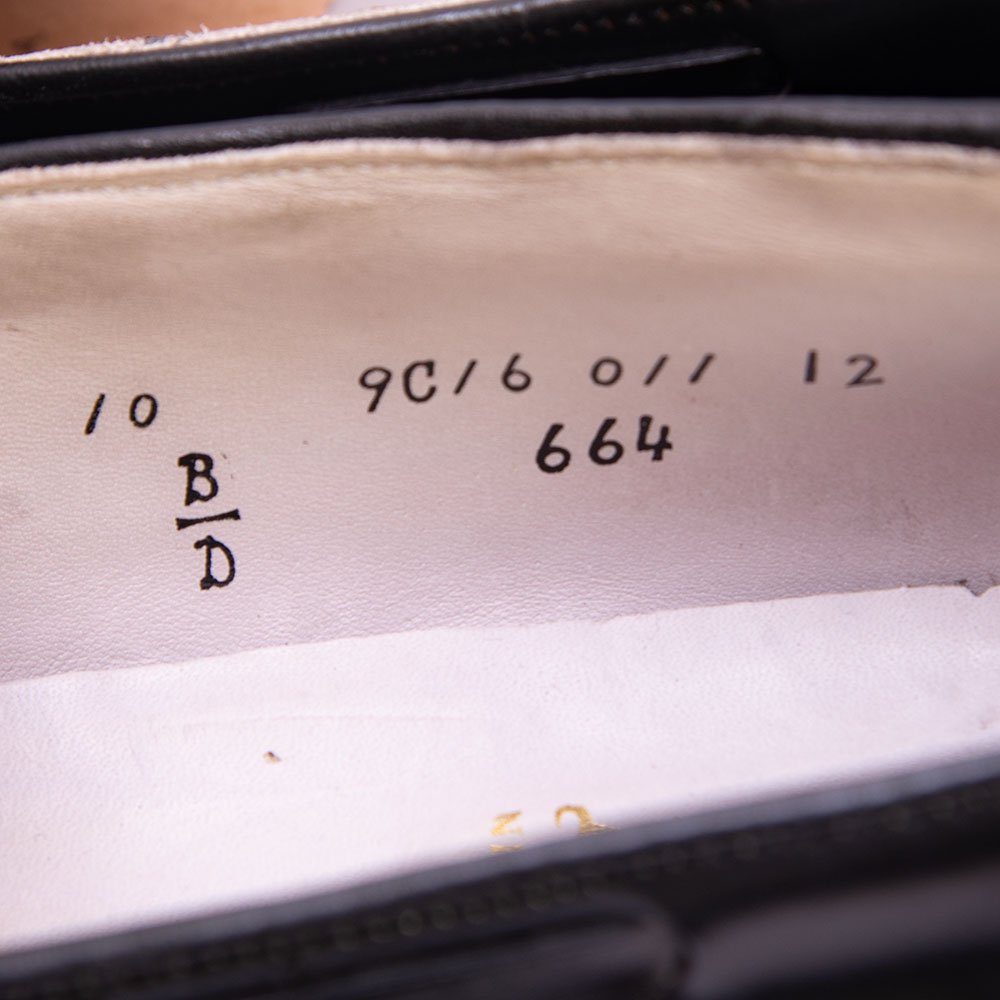 オールデン 664 タッセルローファー コードバン ブラック サイズ10D