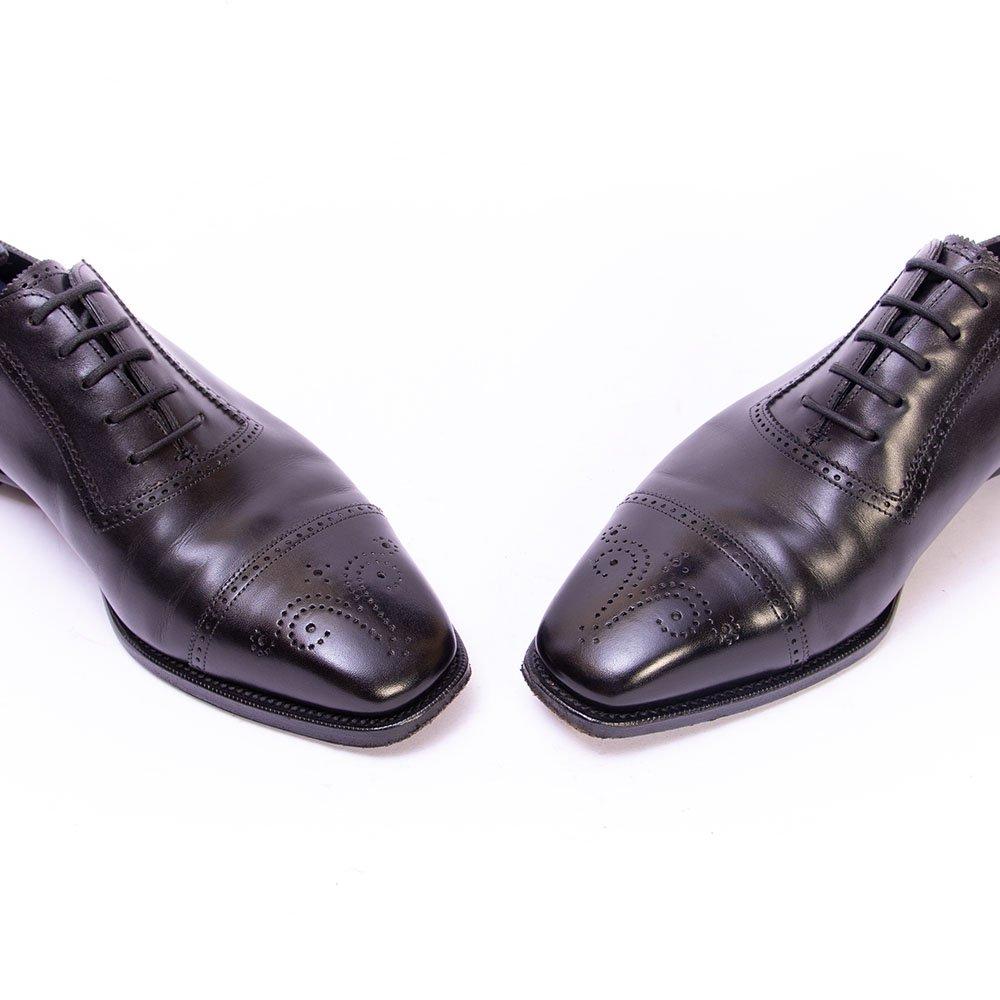 アンソニークレバリー CAMERON(キャメロン)セミブローグ ブラック サイズ6E