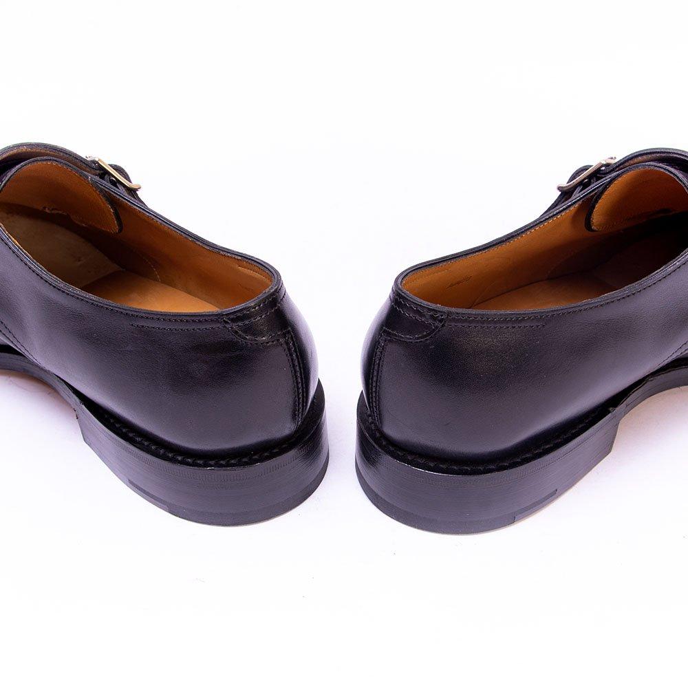 ジョンロブ WILLIAM(ウィリアム)ダブルモンク ブラック サイズ8E