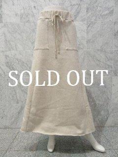 ■スウェットマキシスカート