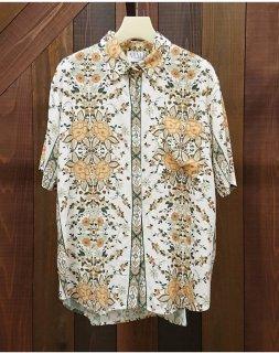 ■MLM LABEL-フラワープリントシャツ