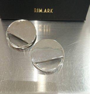 ■RIM.ARK-Half clear earring