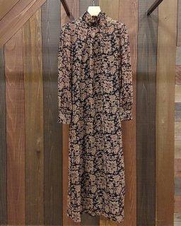 ■TODAYFUL-Georgette Leaf Dress