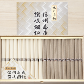 信州そば・讃岐うどん 詰め合わせ(SS-50)