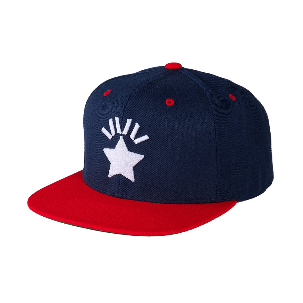 ハハハCAP 1st-type / NAVY-RED