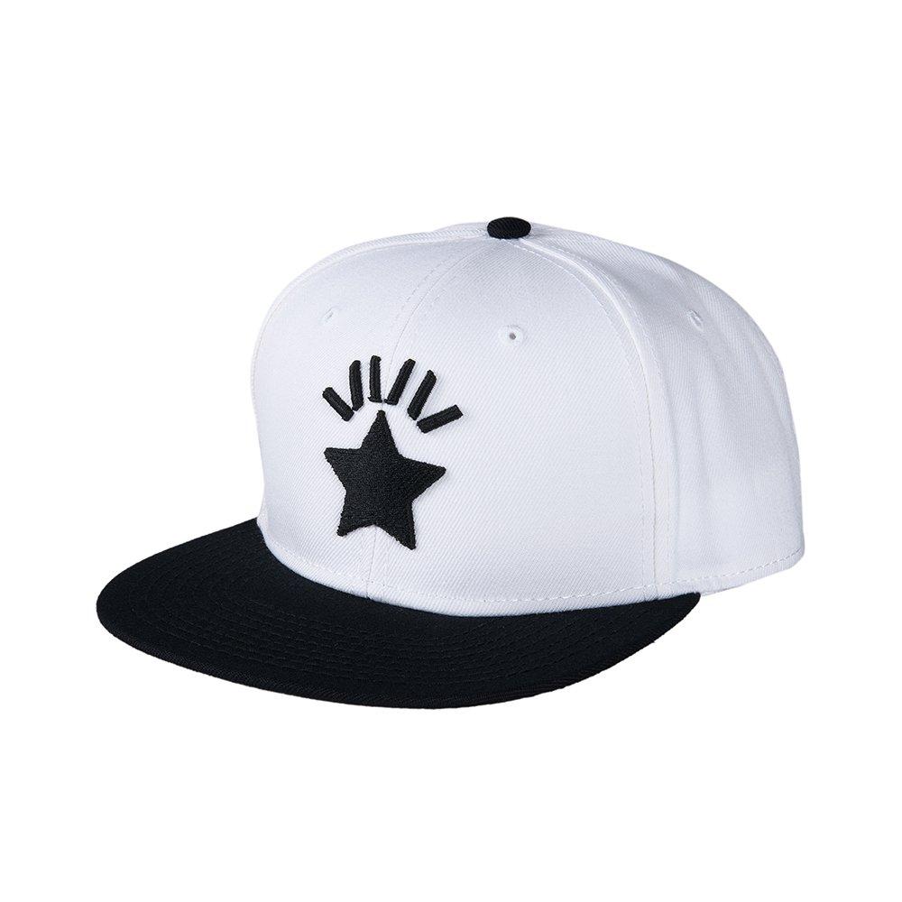 ハハハCAP 1st-type / WHITE-BLACK