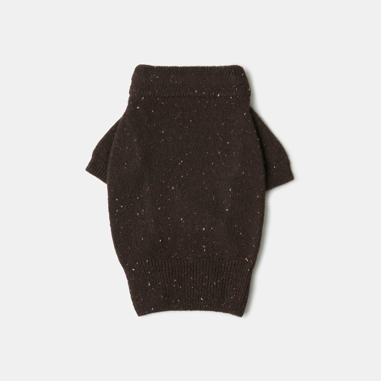 CASHMERE DOG STARDUST TOPS<BR>ALMOND CHOCOLATE