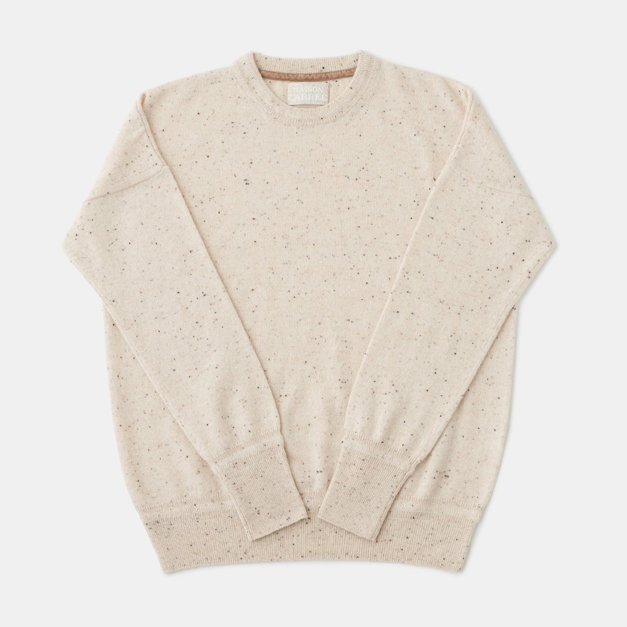 CASHMERE STARDUST TOPS<BR>COOKIE&CREAM