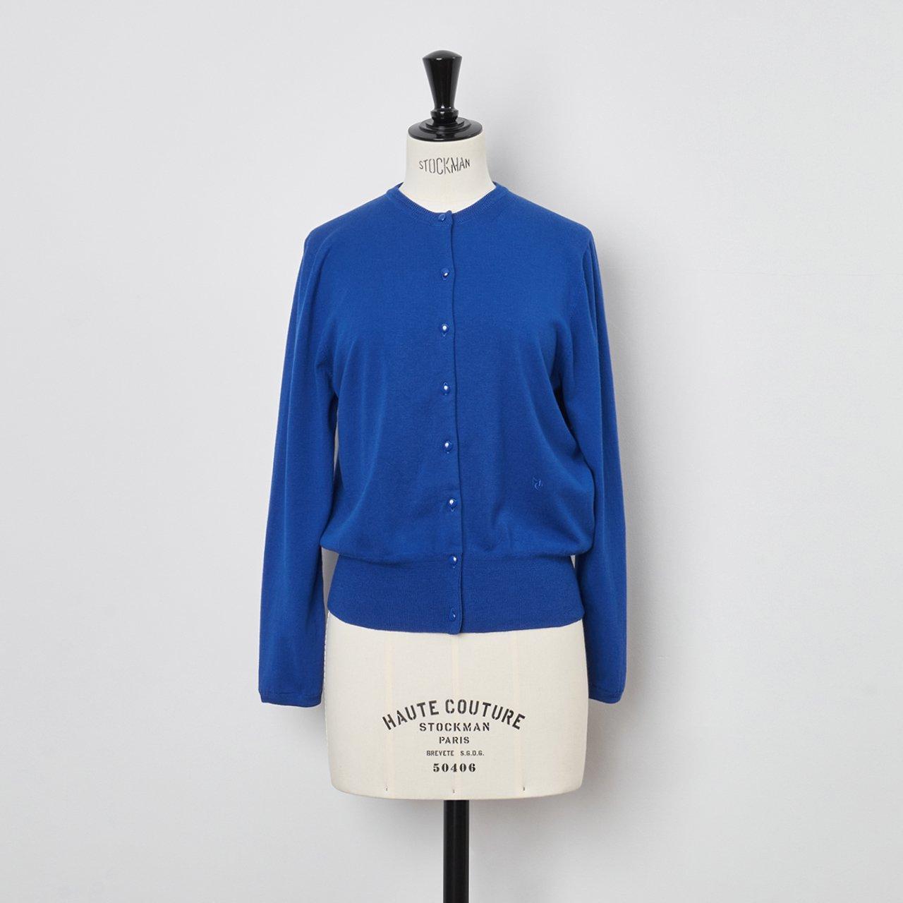 Basic cardigan<BR>LAPIS BLUE