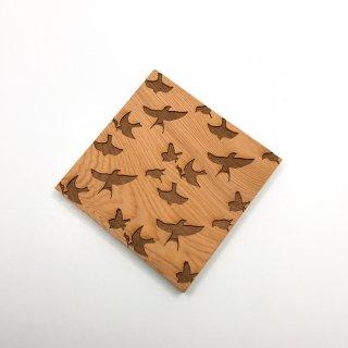 屋久杉和コースター  鳥