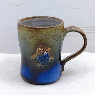 うりずん窯マグカップ【ウミガメ1匹】