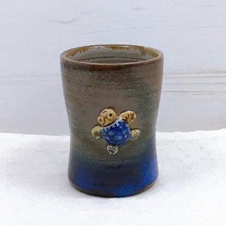 うりずん窯陶カップ(小)【ウミガメ1匹】